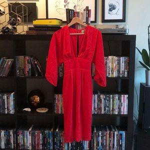 ASOS Kimono Style Midi Dress